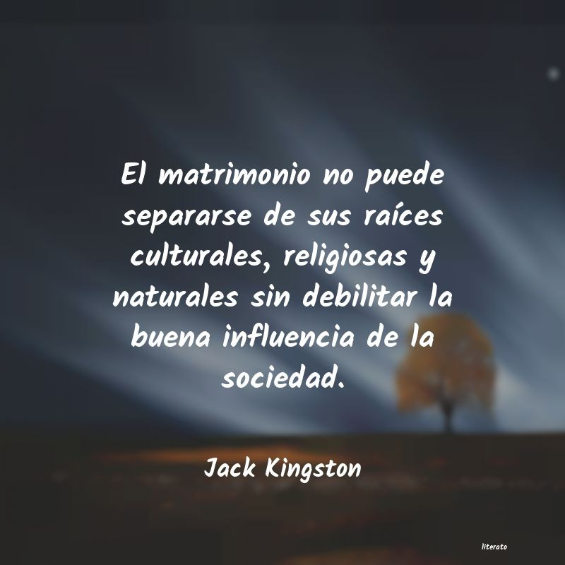 Frases de Jack Kingston