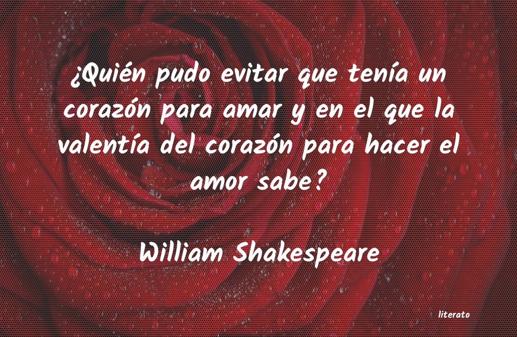 William Shakespeare Quién Pudo Evitar Que Tení