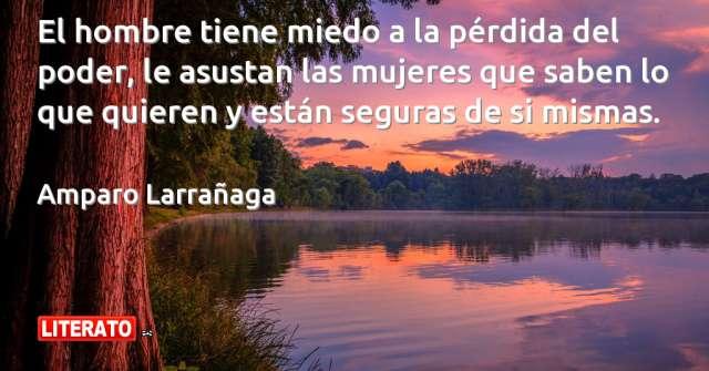 Frases de Amparo Larrañaga