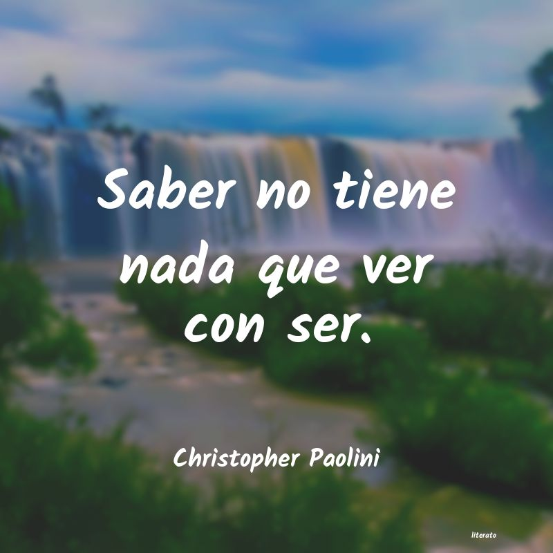 Frases de Christopher Paolini