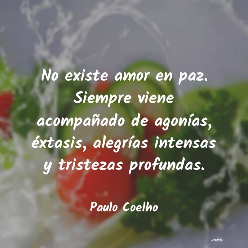 Frases El Amor No Existe Literato