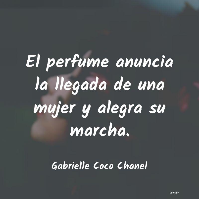 Gabrielle Coco Chanel El Perfume Anuncia La Llegada