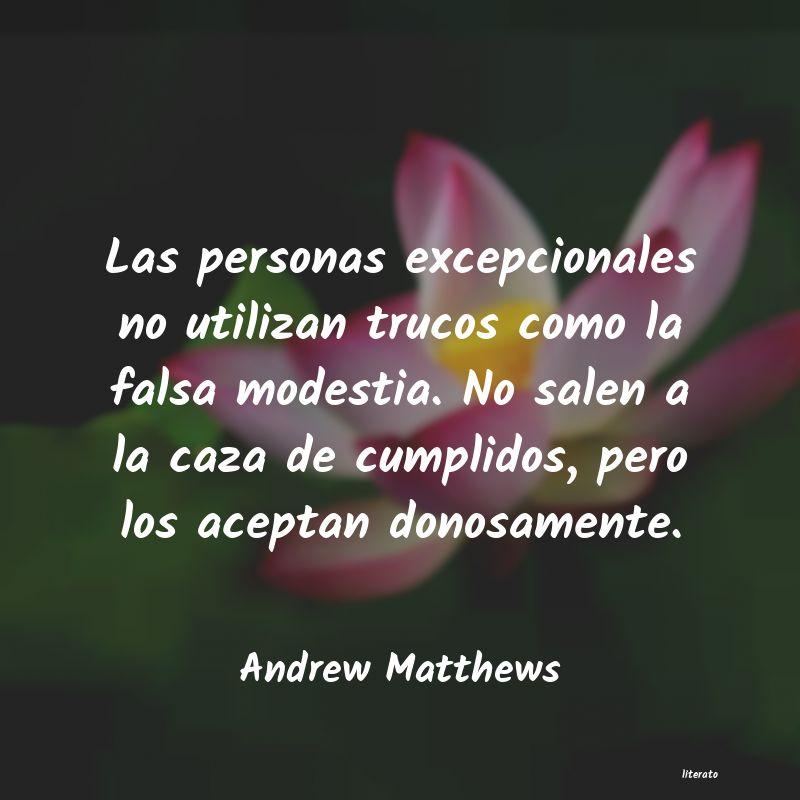 Andrew Matthews Las Personas Excepcionales No
