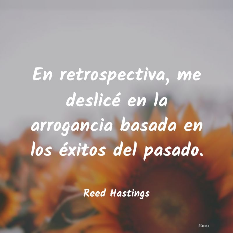 Frases de Reed Hastings