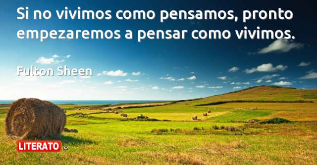 Frases de Fulton Sheen