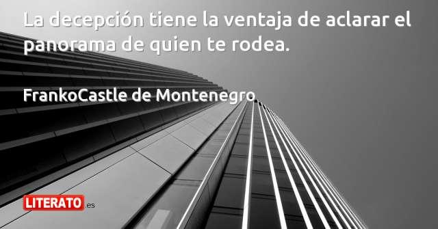 Frases de FrankoCastle de Montenegro