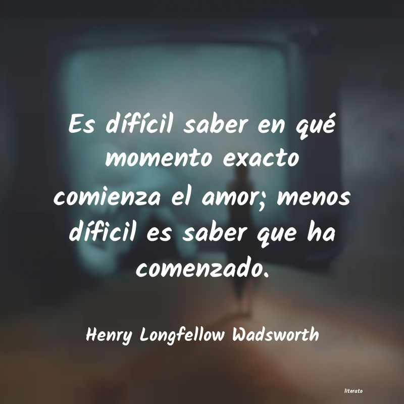 Frases de Henry Longfellow Wadsworth