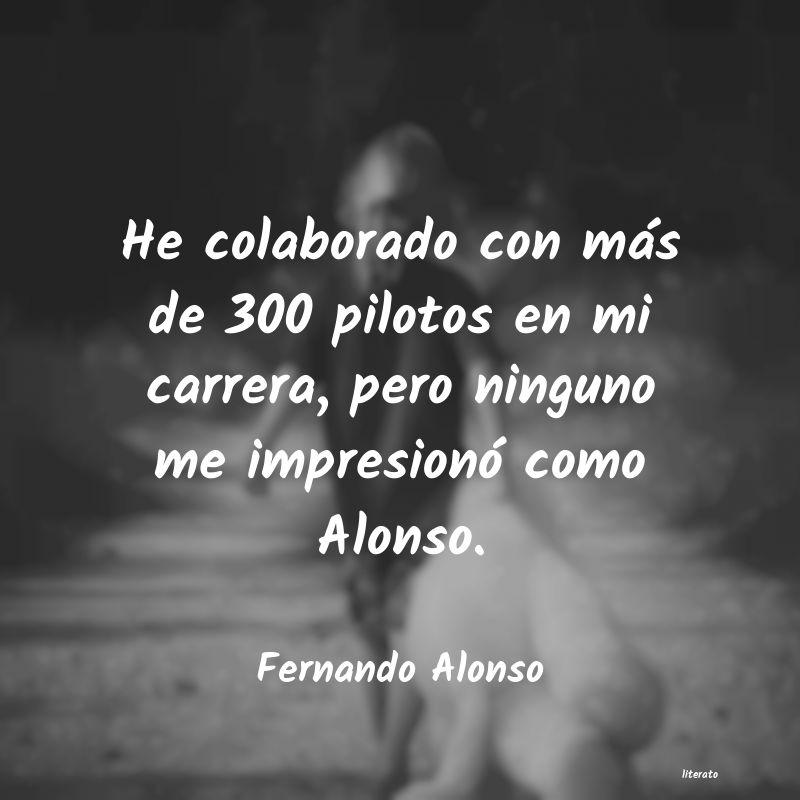 Fernando Alonso He Colaborado Con Más De 300
