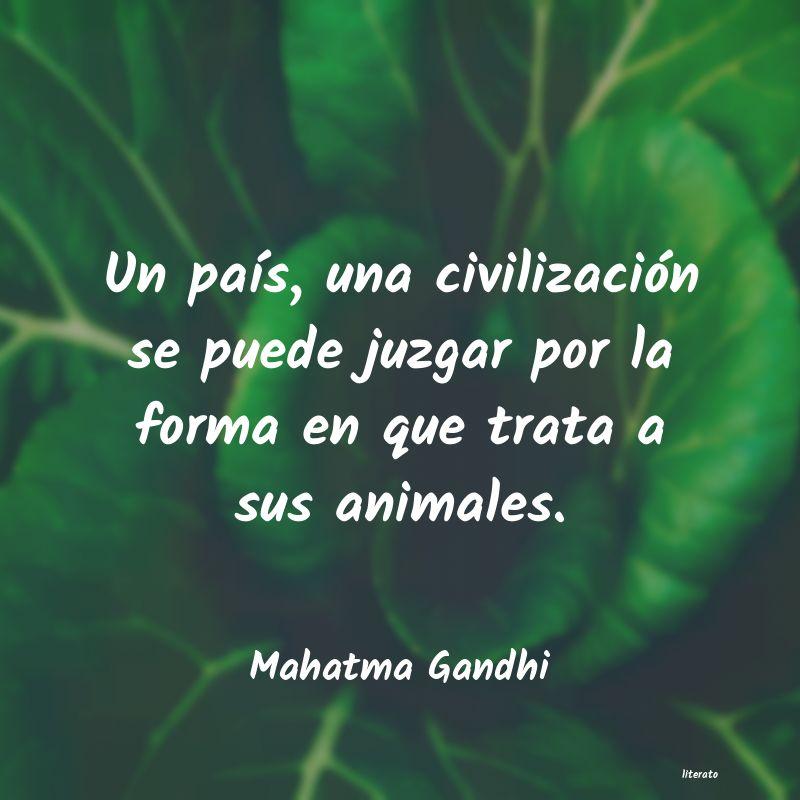 Mahatma Gandhi Un País Una Civilización Se