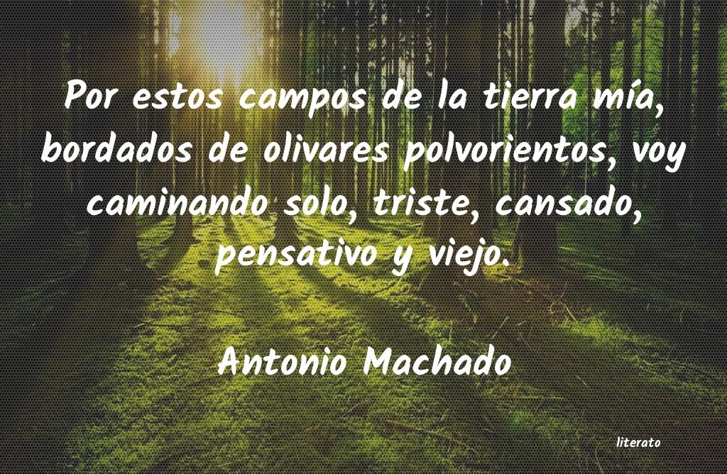 Poemas De Antonio Machado Cortos Literato 3