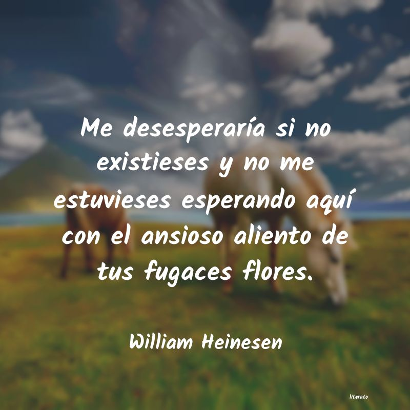 Frases de William Heinesen
