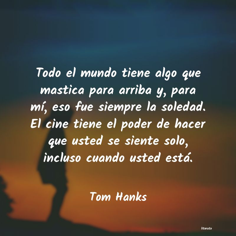 Frases de Tom Hanks
