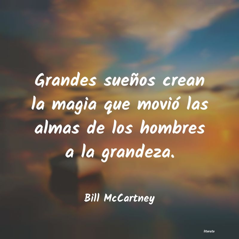 Frases de Bill McCartney