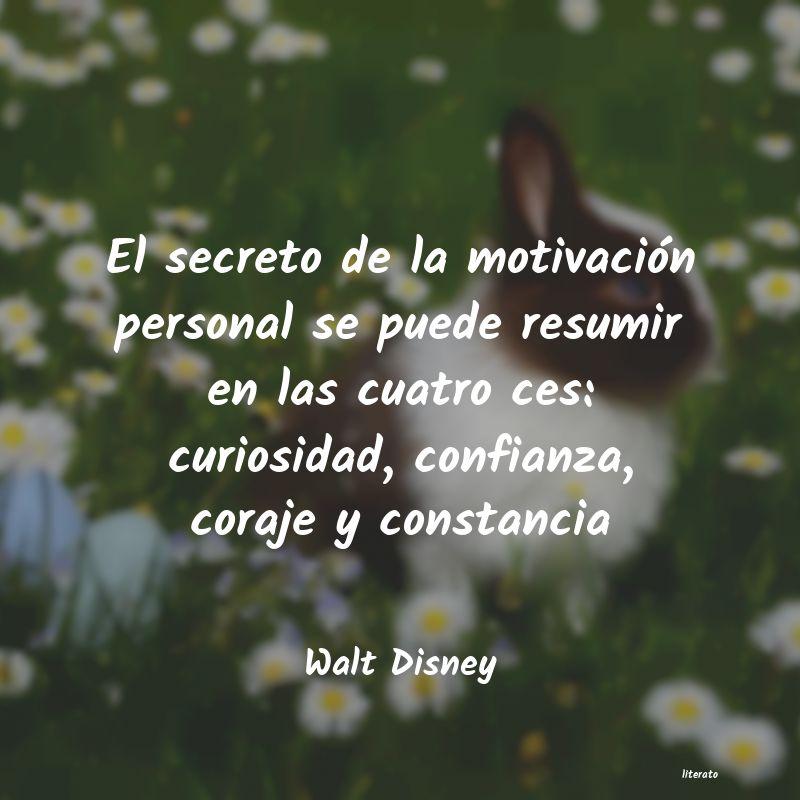 Walt Disney El Secreto De La Motivación P