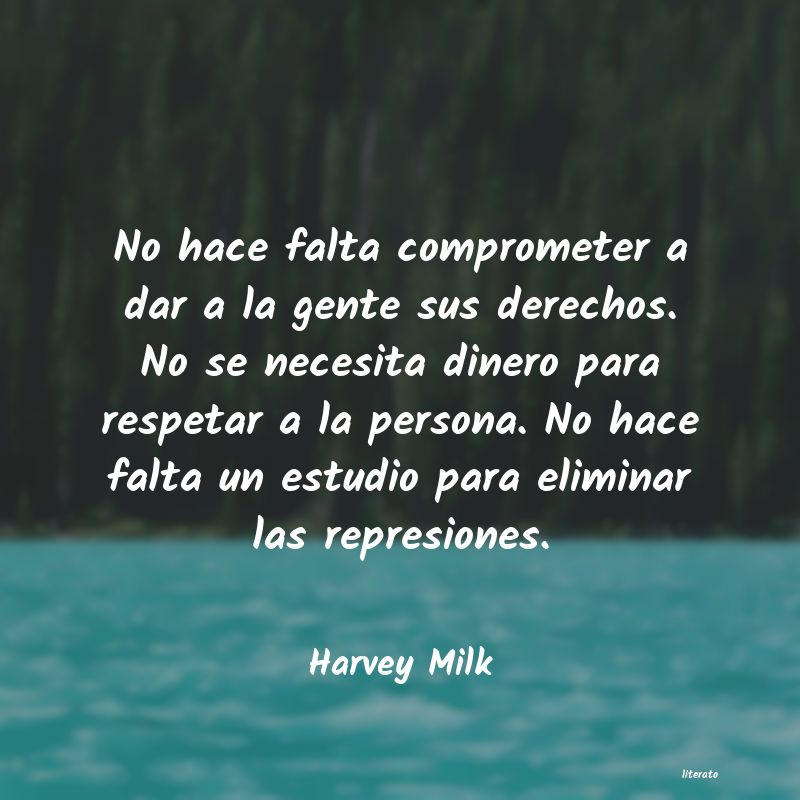 Frases de Harvey Milk