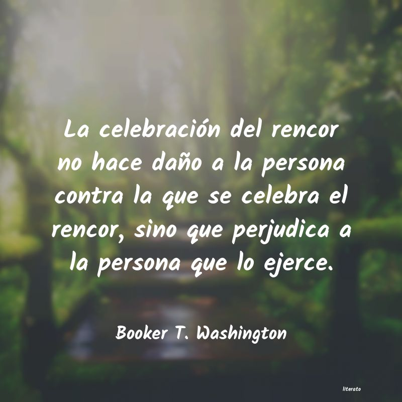Frases de Booker T. Washington