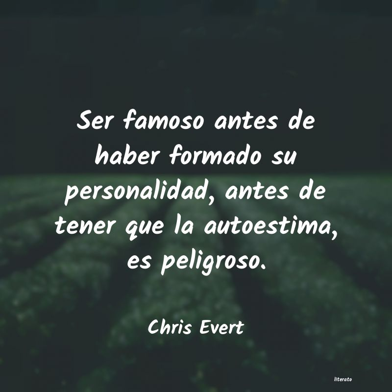 Frases de Chris Evert