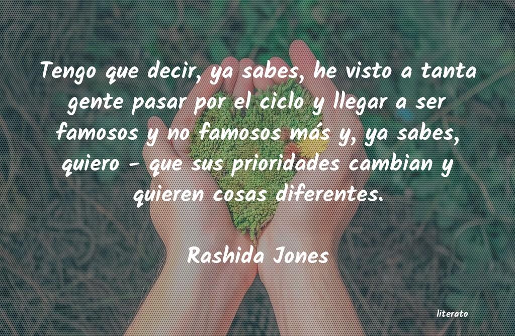 Rashida Jones Tengo Que Decir Ya Sabes He