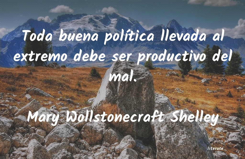 Frases de Mary Wollstonecraft Shelley