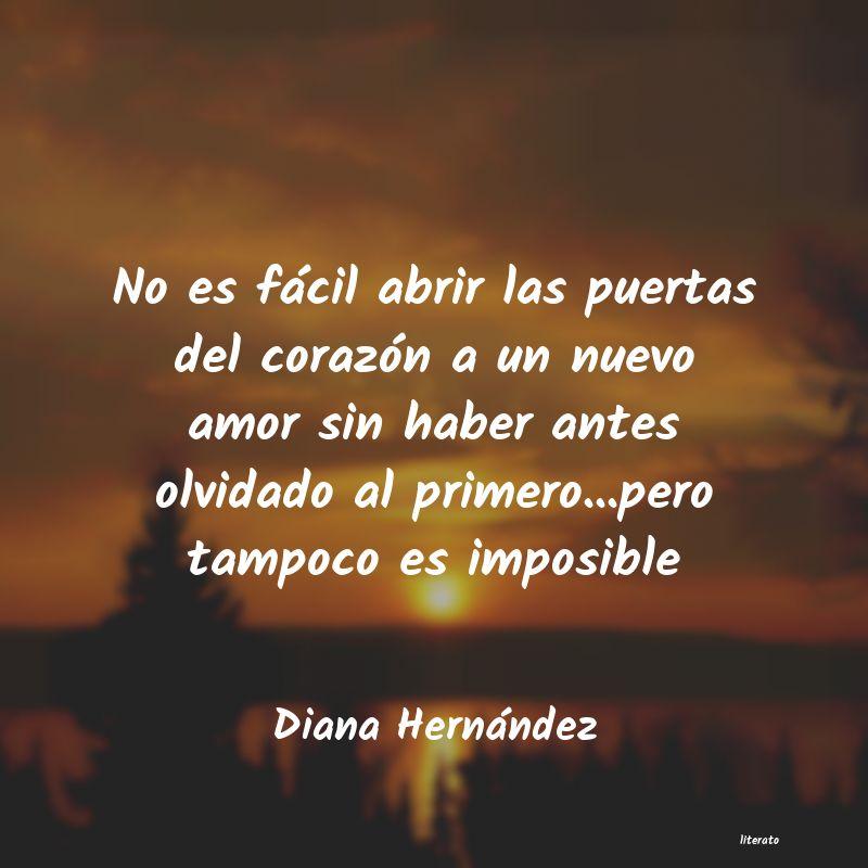 Diana Hernández No Es Fácil Abrir Las Puertas