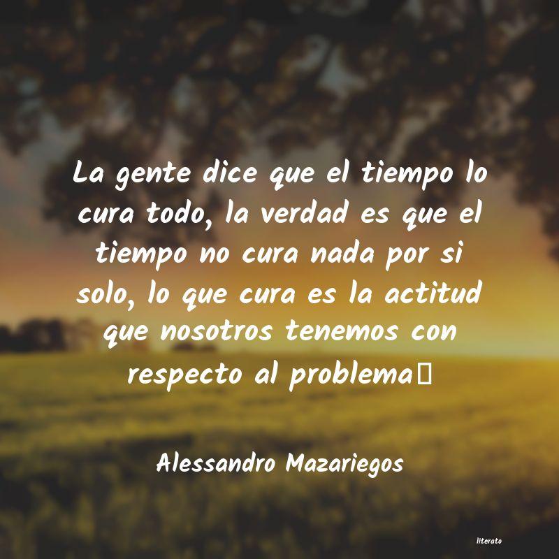 Alessandro Mazariegos La Gente Dice Que El Tiempo Lo