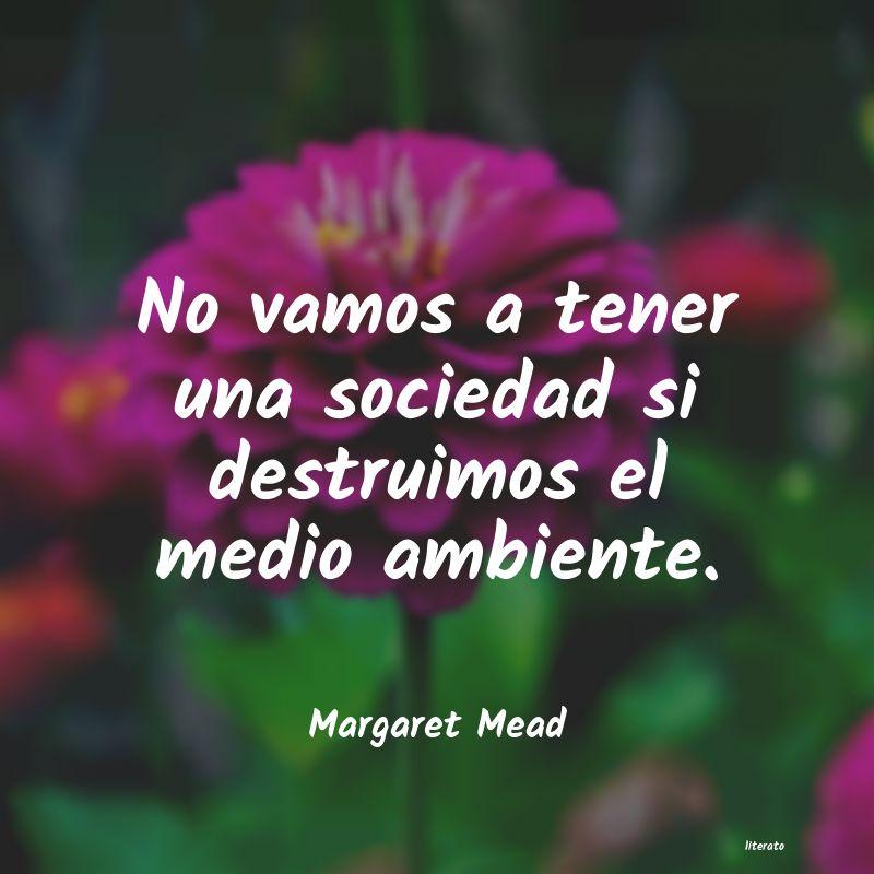 Margaret Mead No Vamos A Tener Una Sociedad