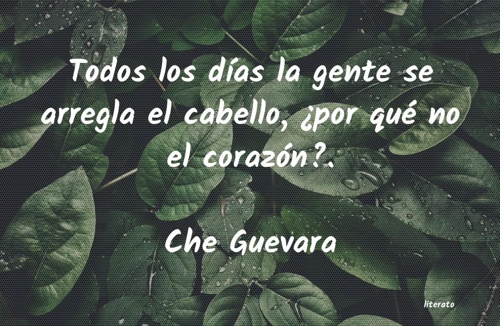 Che Guevara Todos Los Días La Gente Se Ar