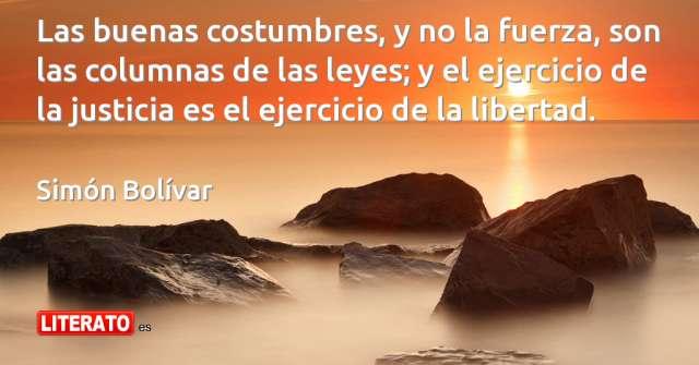 Frases de Simón Bolívar