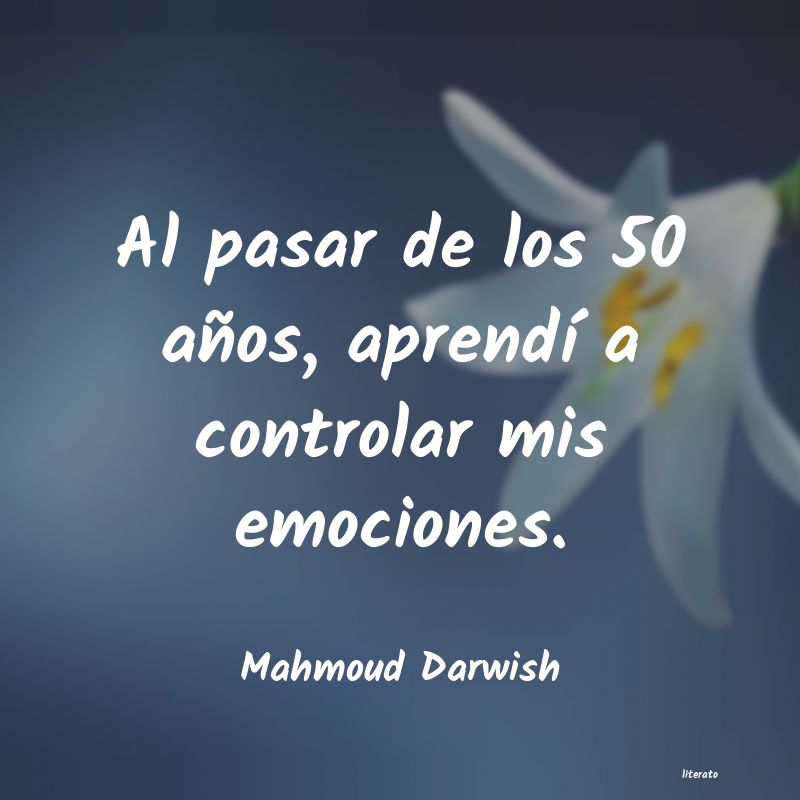 Frases de Mahmoud Darwish