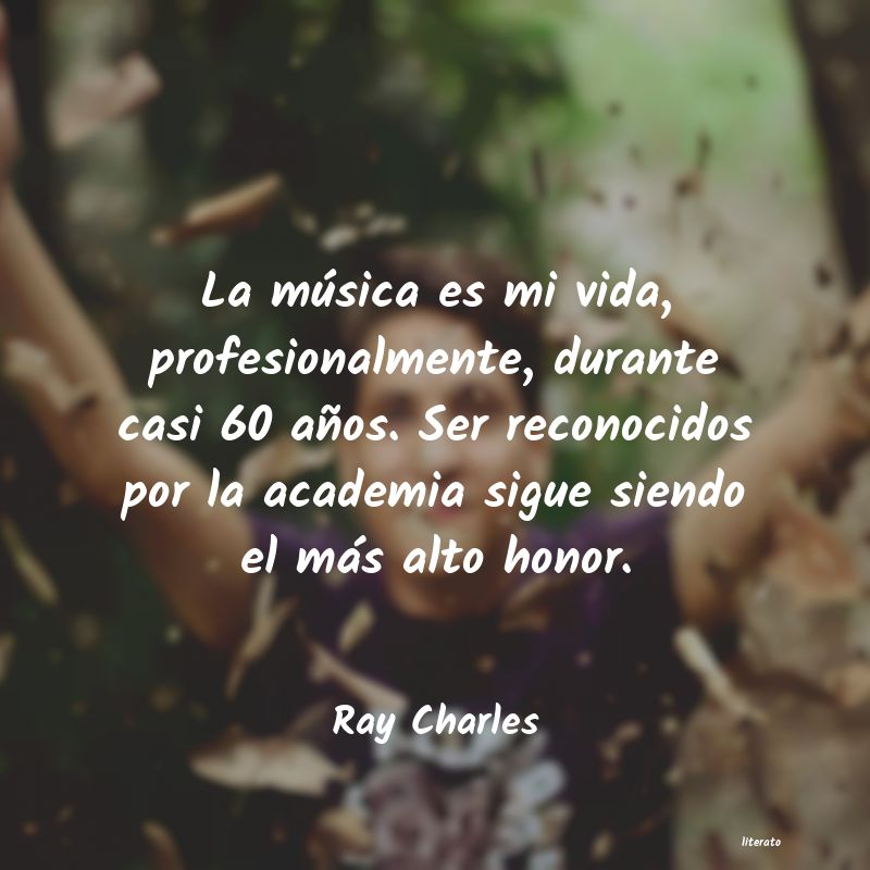Frases de Ray Charles