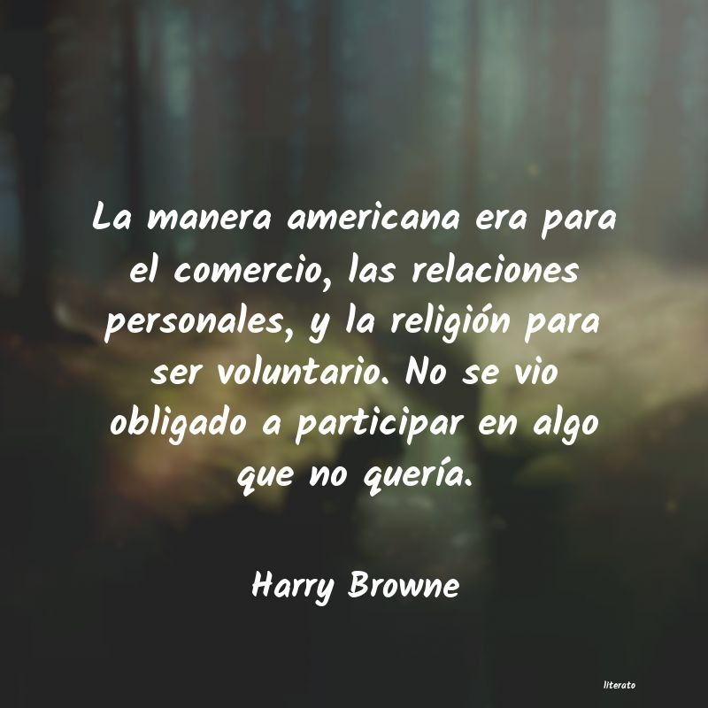 Frases de Harry Browne