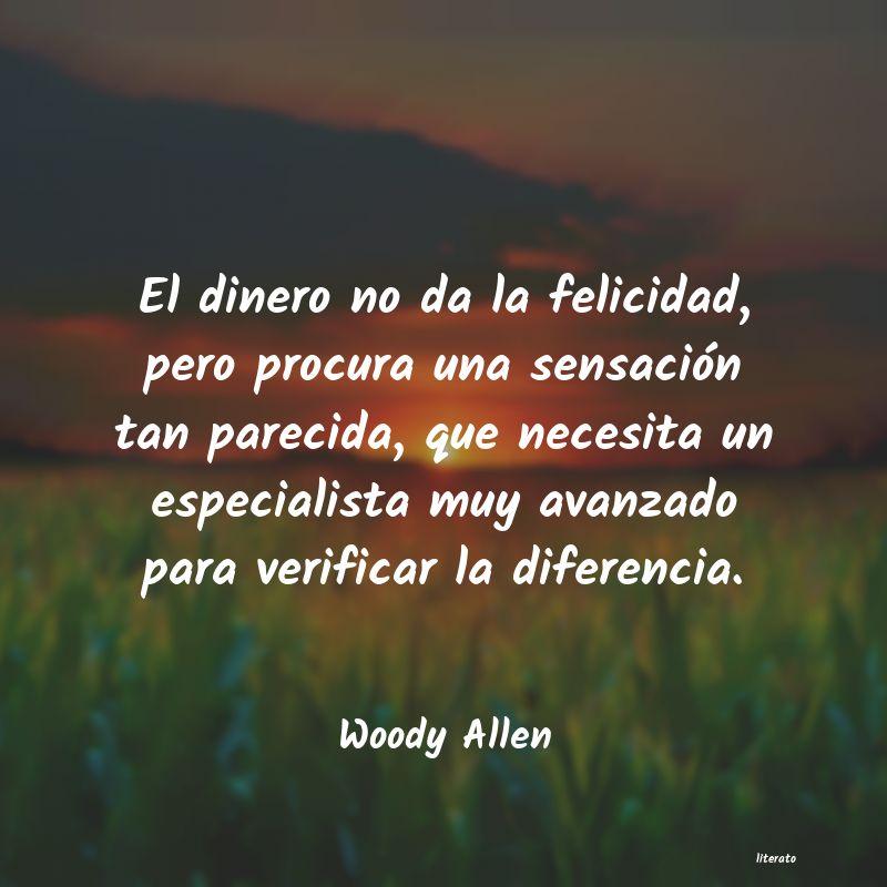 Woody Allen El Dinero No Da La Felicidad
