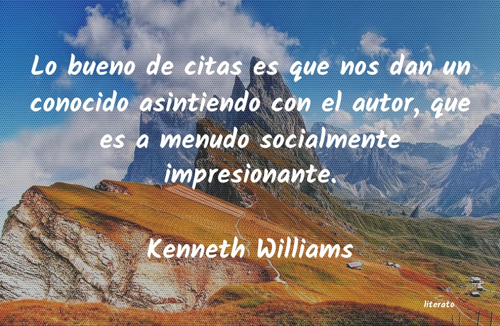 Frases de Kenneth Williams