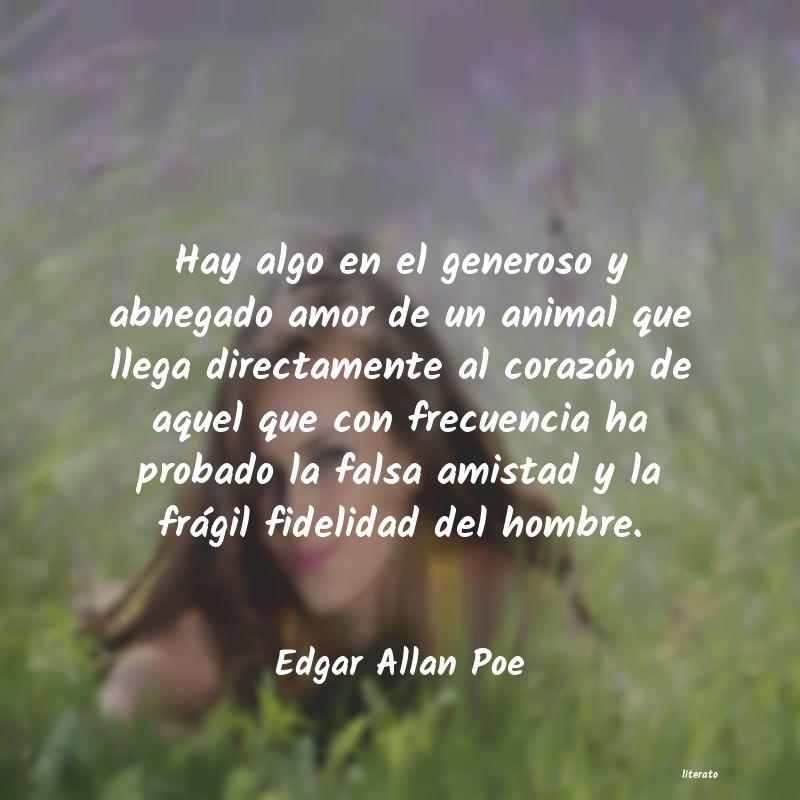 Frases De Amor De Edgar Allan Poe Literato