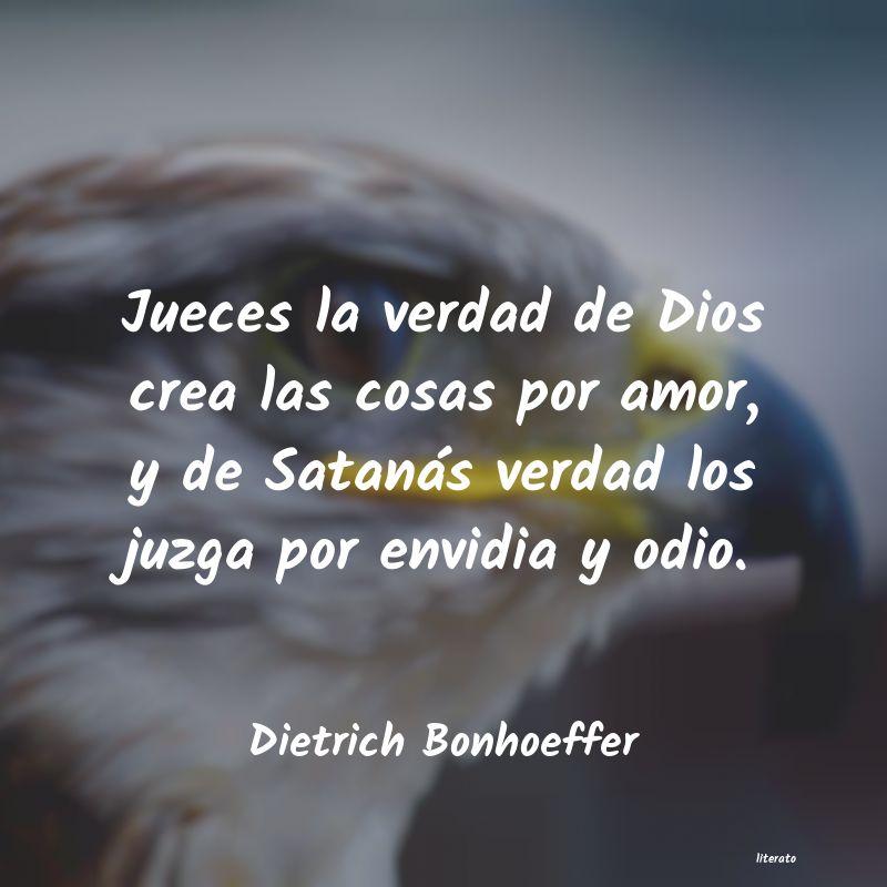 Dietrich Bonhoeffer Jueces La Verdad De Dios Crea