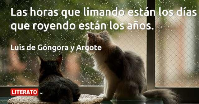 Frases de Luis de Góngora y Argote