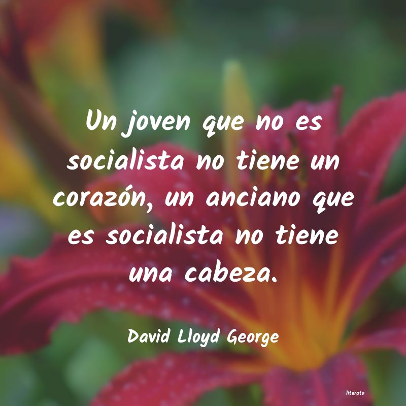 Frases de David Lloyd George