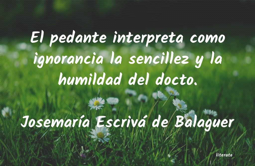 Frases De Humildad Y Sencillez Literato