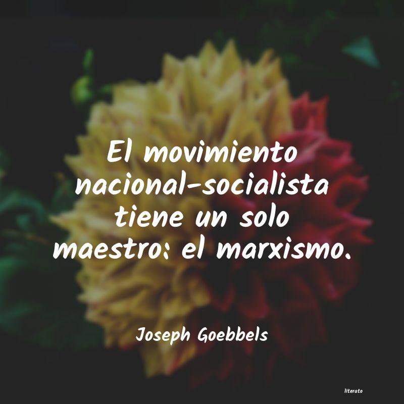 Frases de joseph goebbels - literato