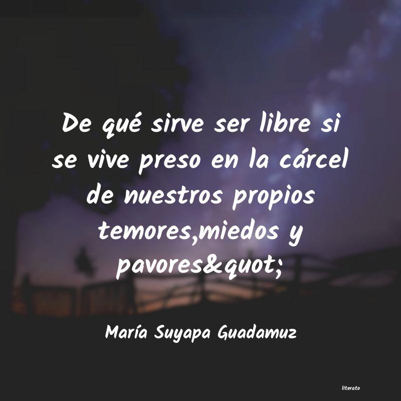 María Suyapa Guadamuz De Qué Sirve Ser Libre Si Se