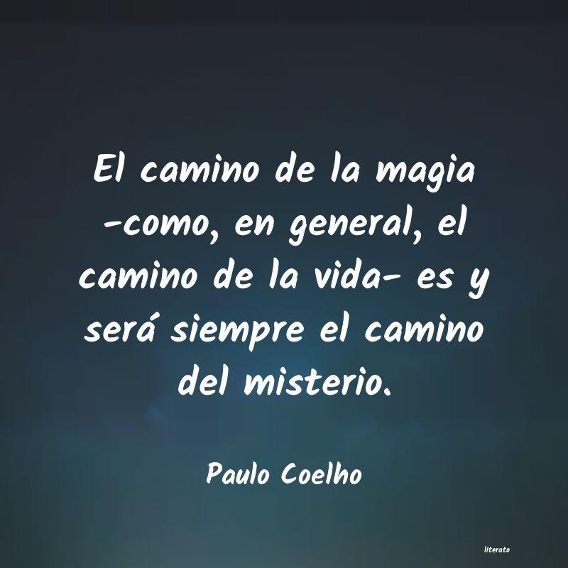 Paulo Coelho El Camino De La Magia Como E