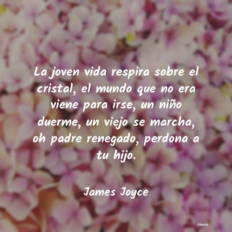 James Joyce La Joven Vida Respira Sobre El