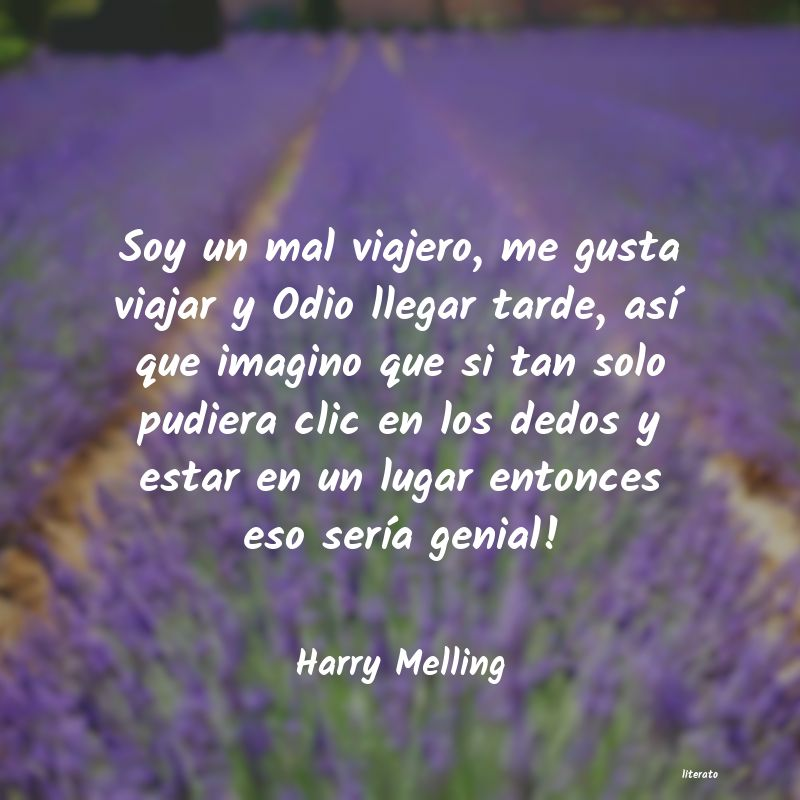 Frases de Harry Melling
