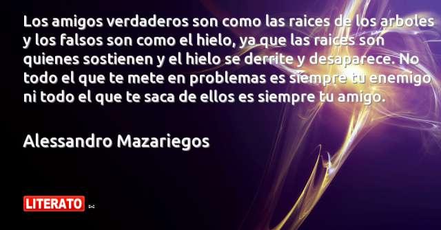 Frases de Alessandro Mazariegos