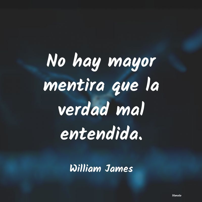 Frases De William James Literato