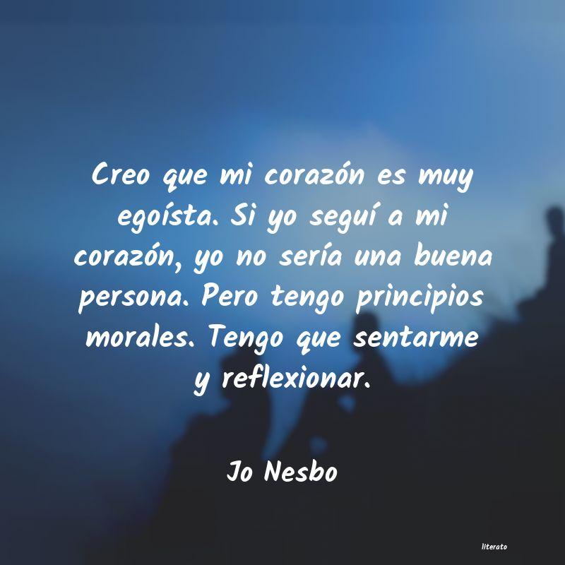 Frases De Jo Nesbo Literato