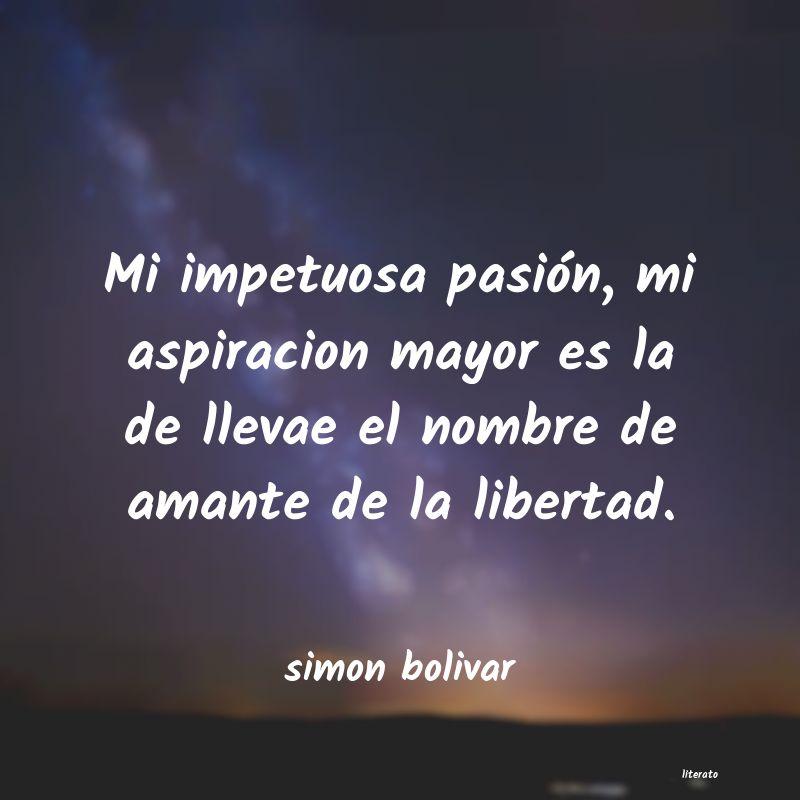 Pensamientos De Simon Bolivar Sobre La Ciudadania Literato