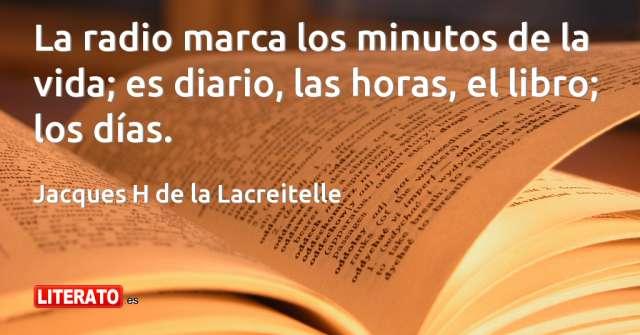 Frases de Jacques H de la Lacreitelle