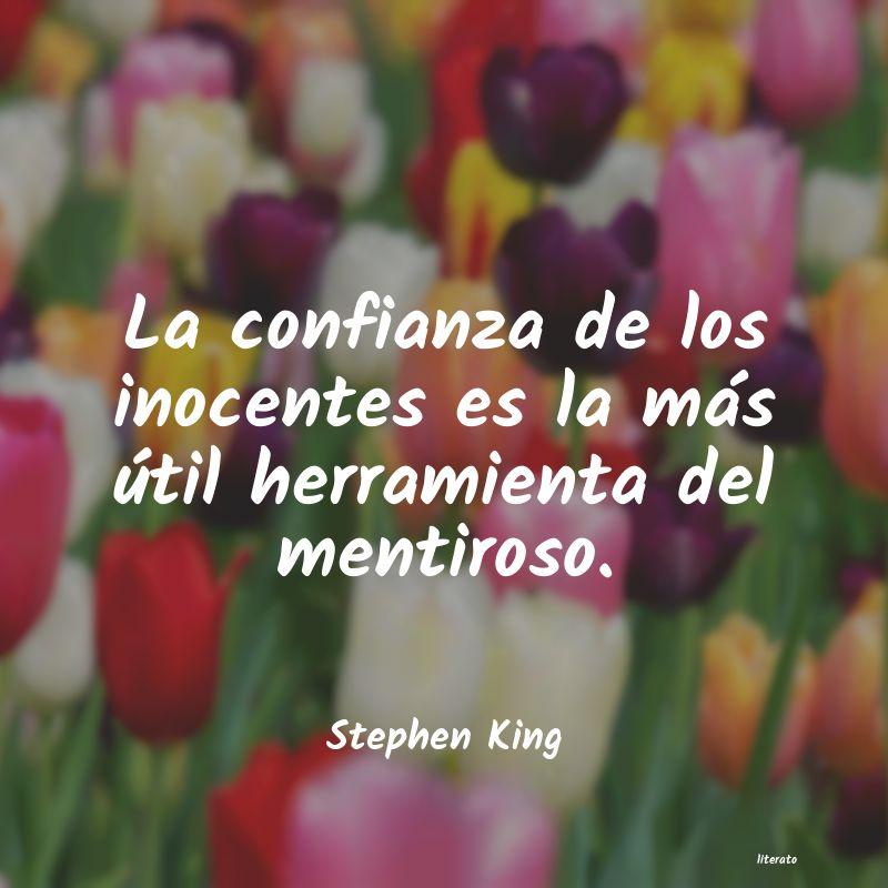Stephen King La Confianza De Los Inocentes