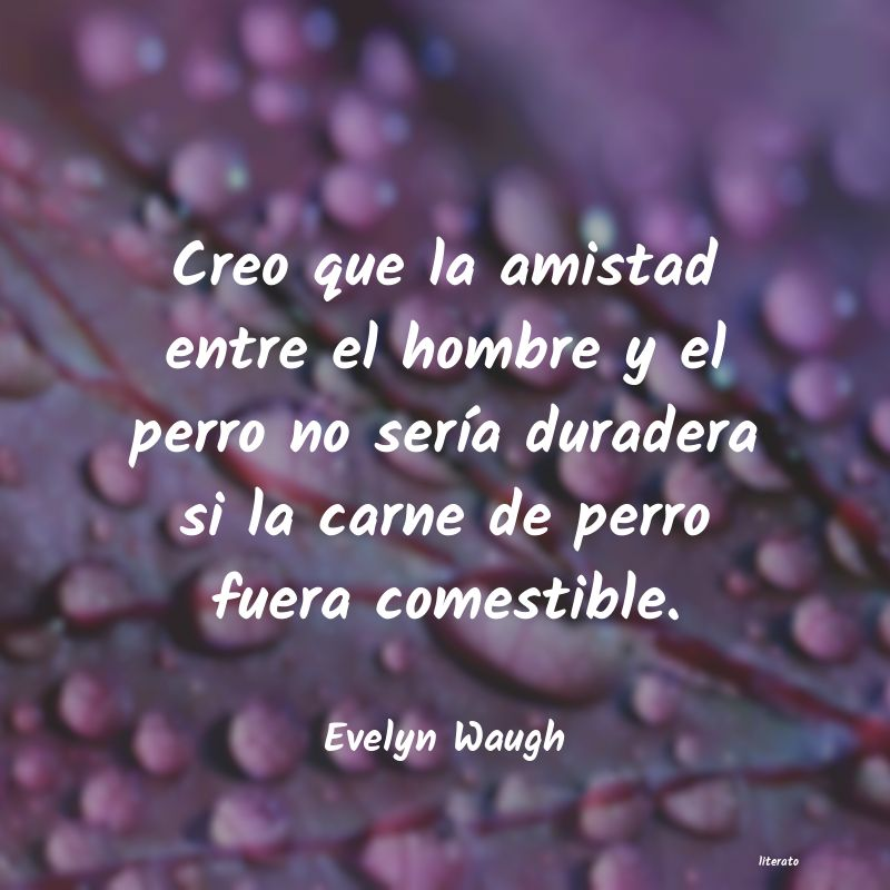 Frases de Evelyn Waugh